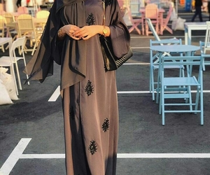 abaya and black image