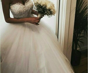 bride, want, and white image