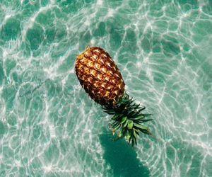 fashion, pineapple, and FRUiTS image