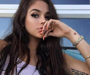 beauty, fashion, and madison beer image