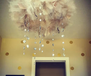 cloud, baby shower, and wedding decor image