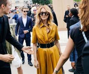 celine dion, paris, and street style image