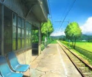 anime, places, and scenery image