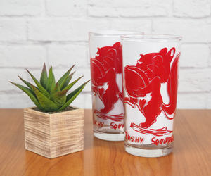 etsy, tumbler, and red image