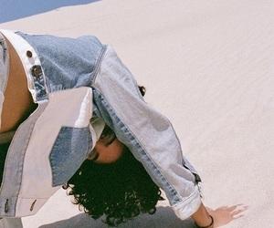 denim, desert, and jacket image
