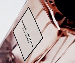 marc jacobs, perfume, and rose gold image