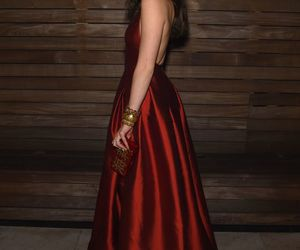 hailee steinfeld, dress, and red image