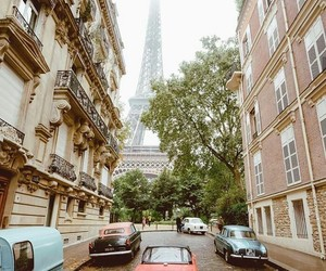 travel, nature, and paris image