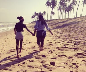 beach, ghana, and blackgirls image