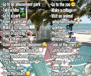 fun, summer, and hoetips image
