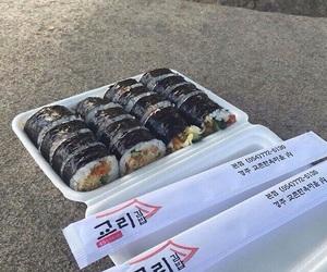 food, korean, and asian image
