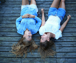 girl and friendship image