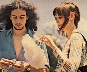 vintage, cotton candy, and couple image