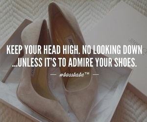 quotes, shoes, and heels image