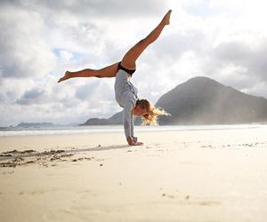 balance, flexible, and gymnastics image