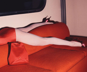 red, legs, and guy bourdin image