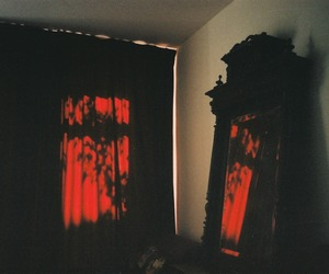 bedroom and goth image