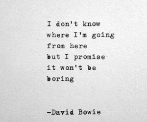 david bowie, frases, and inspiration image