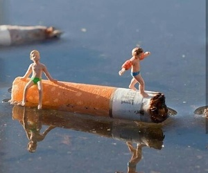 art, cigarette, and photography image