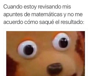 funny, matematicas, and meme image