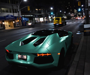 blue, car, and Lamborghini image