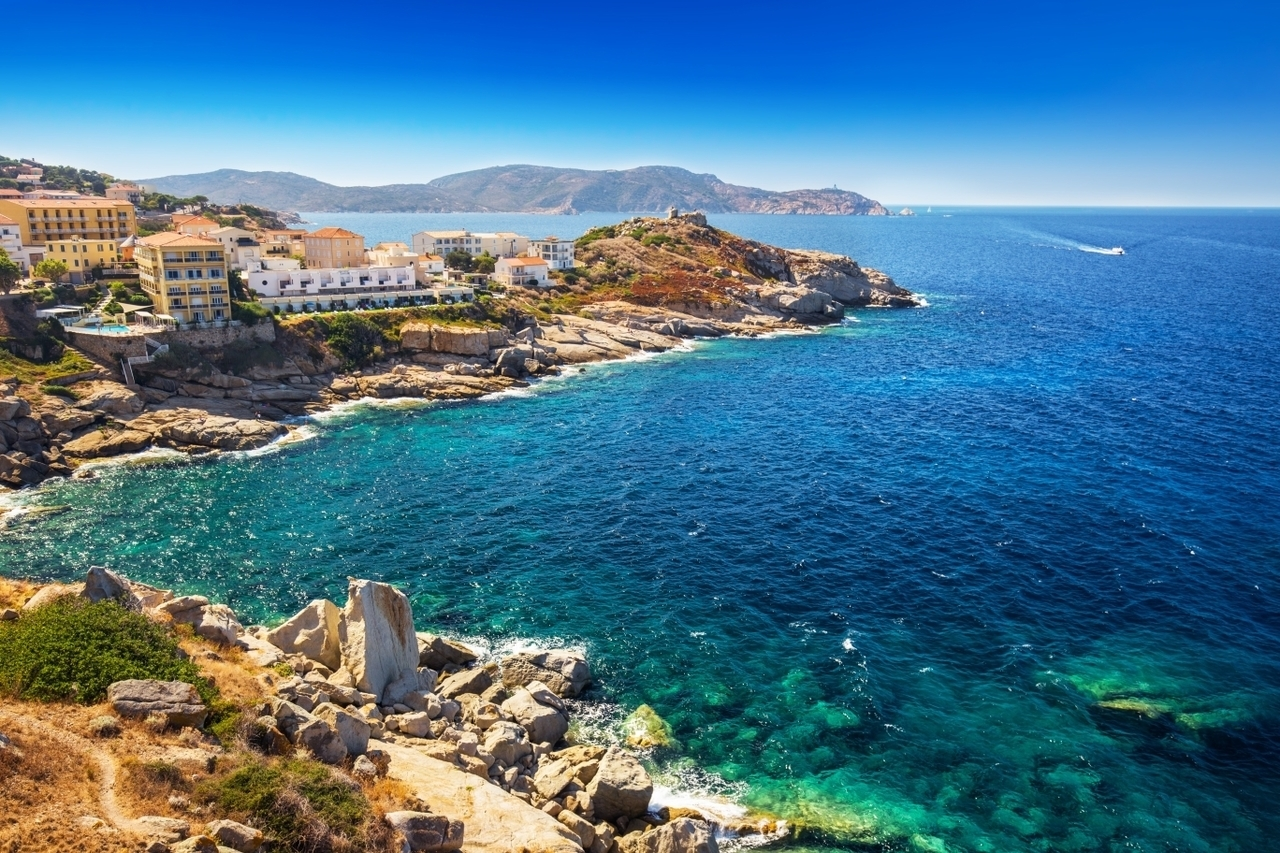 summer and Corsica image