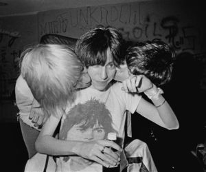 iggy pop, Patti Smith, and punk image