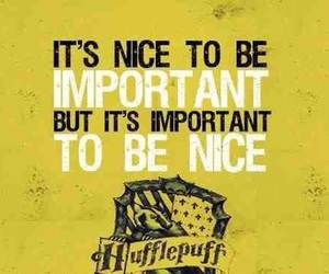 hufflepuff, harry potter, and nice image