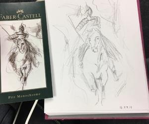 art, castel, and faber image