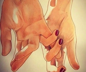 hands, i miss you, and i miss us image