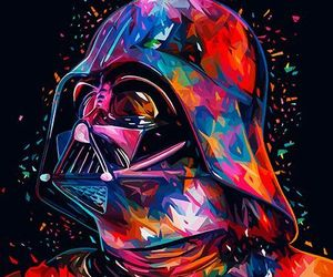 star wars, darth vader, and art image