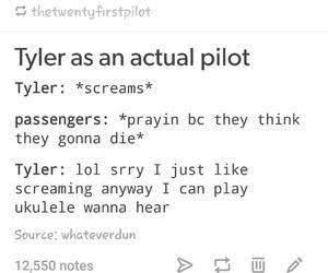 funny, tumblr, and twenty one pilots image