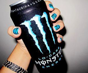 monster, blue, and nails image