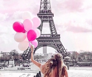 paris, friends, and pink image