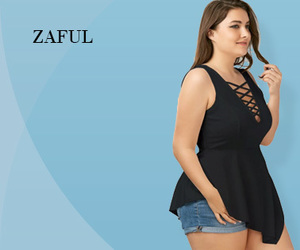tops, plus size, and zaful image