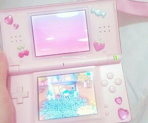 pink, pastel, and game image