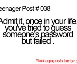 teenager post, funny, and life image