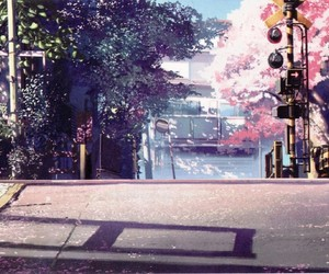 anime, scenery, and japan image