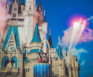 disney world, magic kingdom, and cinderella castle image
