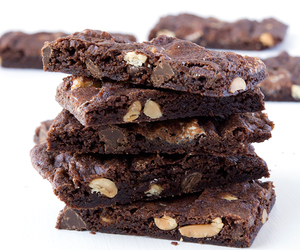 brownies, food, and sweets image