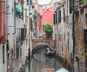 canal, explore, and italy image