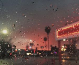 aesthetic and rain image