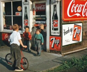 70s, 90s, and coca cola image