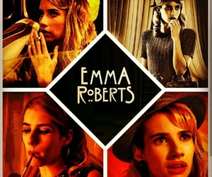 edit, emma roberts, and freakshow image