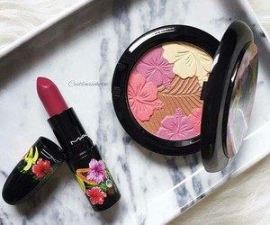 collection, floral, and makeup image