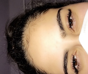 arab, extensions, and eyebrows image