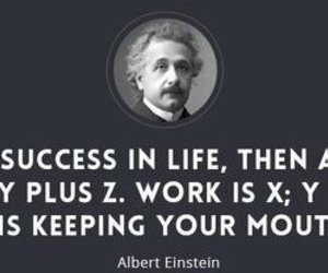 Albert Einstein, life, and philosophy image