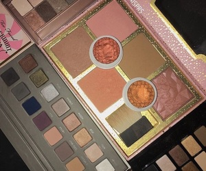 beauty, blush, and palettes image