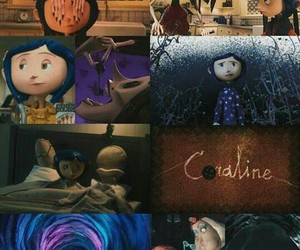 coraline, movie, and wallpaper image