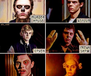 characters, edit, and evan peters image